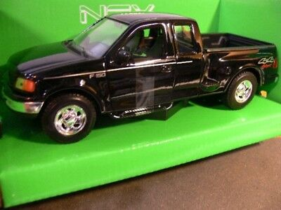 1/24 Welly Ford F-150 Flareside Supercab Pick Up schwarz 29396