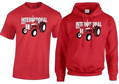 International B414 Inspired Vintage Tractor MENS T-Shirt/Hoodie