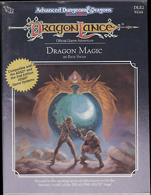 Advanced Dungeons & Dragons (2nd Ed.): DragonLance - Dragon Magic (DLE2)