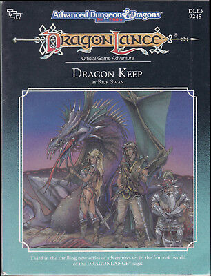 Advanced Dungeons & Dragons (2nd Ed.): DragonLance - Dragon Keep (DLE3)