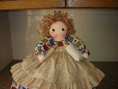 ~~TOASTER COVER DOLL~~2 slice toaster~~Kitchen Decor~~~CHICKENS~~~