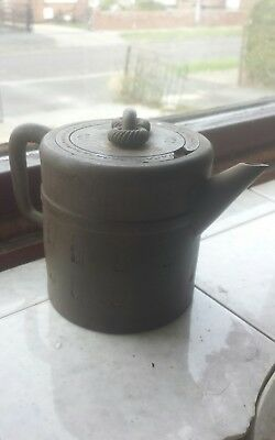 Early Yixing Clay Immortals Teapot  Chinese Japanese Oriental Pottery