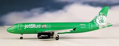 Aeroclassics ACN595JB Jetblue A320 Boston Celtics N595JB Diecast 1/400 Jet Model