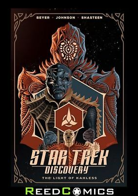 STAR TREK DISCOVERY LIGHT OF KAHLESS GRAPHIC NOVEL Collects 4 Part Series
