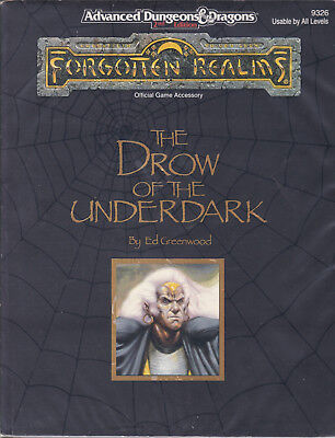 Advanced Dungeons & Dragons: Forgotten Realms - The Drow of the Underdark