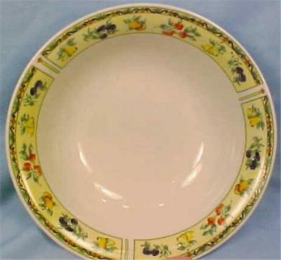 Gibson Fruit A Plenty Soup Cereal Bowl Stoneware Dinnerware China