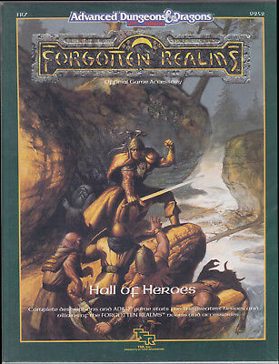 Advanced Dungeons & Dragons (2nd Ed.): Forgotten Realms - Hall of Heroes (FR7)