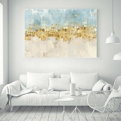 Abstract Art Ink Painting Nordic Silk Canvas Poster Wall Decor Unframed A337