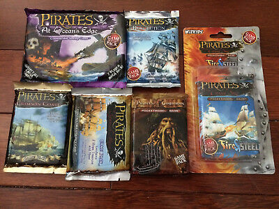 Assorted Bundle of Six Pirates CSG Packs