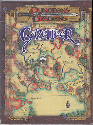 Dungeons & Dragons (3rd Ed.): Gazetteer