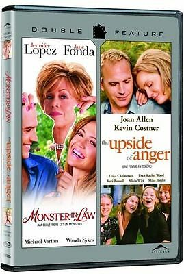 Monster-In-Law/Upside Of Anger Double Feature (DVD, 2009) Brand New Jane Fonda
