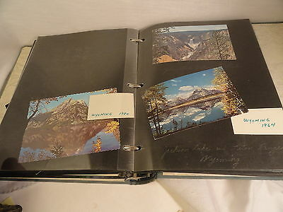 Scrapbook 130+ Color US Postcards Many Cities & States USED Circulated