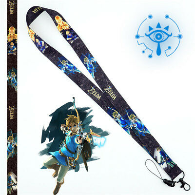 Anime The Legend of Zelda Lanyard Neck Strap Cell Phone Rope Schlüsselbänder New