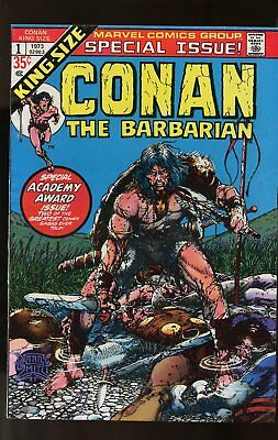 Conan The Barbarian King-Size Special #1 Fine- Barry Smith Art 1973 Marvel
