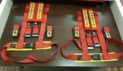 Sabelt, Ferrari 904020NP Clubman Sport 4 Point Harness ECE SET (2PCS)