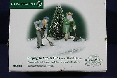 Dept 56  - Dicken's Village - Keeping the Streets Clean ~ 56.58532