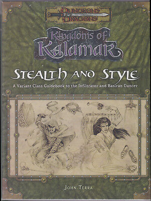 Dungeons & Dragons (3rd Ed.): Kingdoms of Kalmar - Stealth and Style