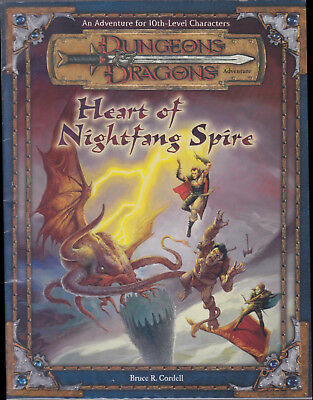 Dungeons & Dragons (3rd Ed.): Heart of Nightfang Spire