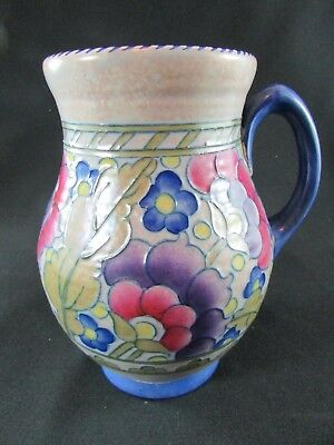 Charlotte Rhead Crown Ducal Large Tube Lined Jug c.1930s