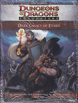 Dungeons & Dragons (4th Ed.): Encounters - Dark Legacy of Evard