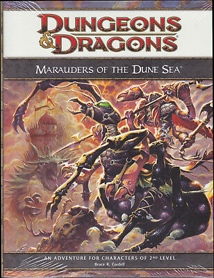 Dungeons & Dragons (4th Ed.): Marauders of the Dune Sea