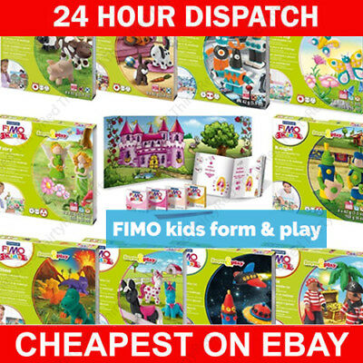 Fimo Kits For Kids Form And Play Clay Sets – 24 Different Sets Full Range