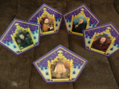 Harry Potter Chocolate Frog Wizard Cards - Founding Wizards and Dumbledore