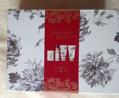 Laura Ashley Royal Bloom Mini indulgence gift set. New.