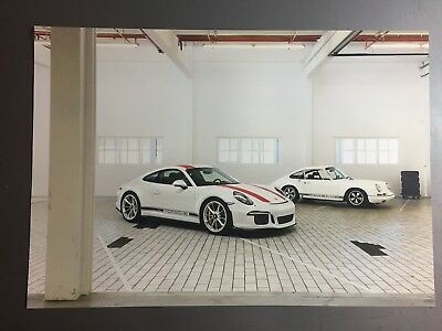 2017 Porsche 911-R Coupe Showroom Advertising Sales Poster RARE!! Awesome L@@K
