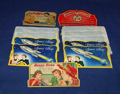 Vintage Sewing Needle Books