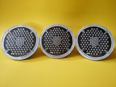 3 Dialight LED Traffic Light Lamp Modules / YELLOW / P46 Series