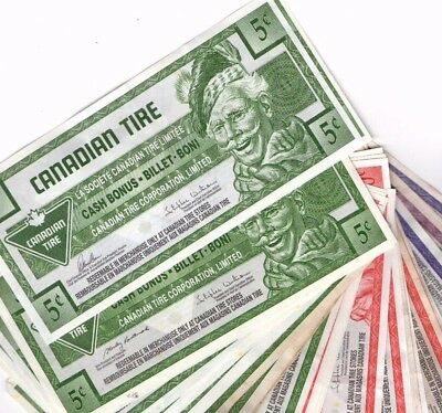 Canadian Tire Money Collection