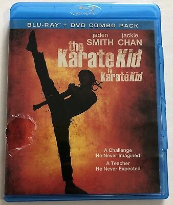 The Karate Kid (Bluray, DVD, 2010) Canadian