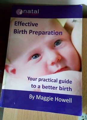 Natal hypnotherapy Hypnobirthing book, Effective Birth Preparation Maggie Howell