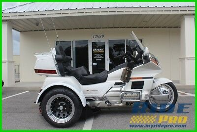 Honda Gold Wing®  1997 Honda Gold Wing GL1500 Goldwing Trike SE Loaded Reverse Cruise Control