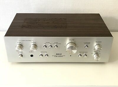 Amplificateur Hifi vintage AKAI AM-2200 Stereo Amplifier Made in Japan