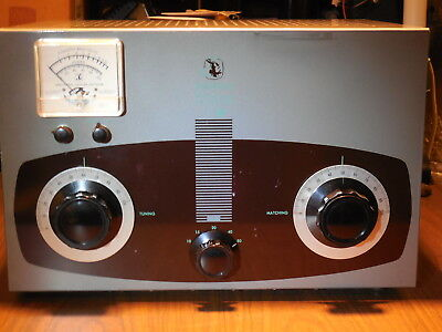 Johnson Kilowatt Matchbox Antenna Tuner with SWR Meter & Coupler A-1 Condition