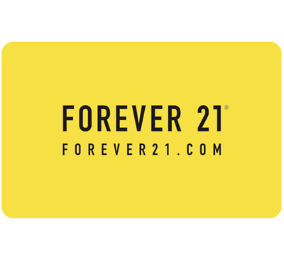 Forever 21 Gift Card $25, $50, or $100 - Email Delivery