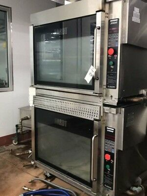 Hardt Double Stacked Inferno 3500 Natural Gas Rotisserie Oven