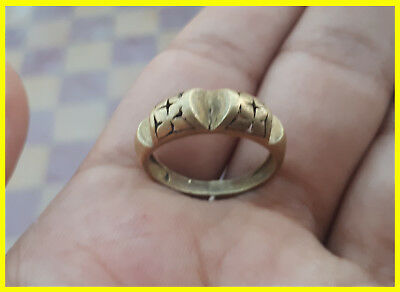 ROMAN rare ancient antique solid roman bronze ring beautiful artifact authentic