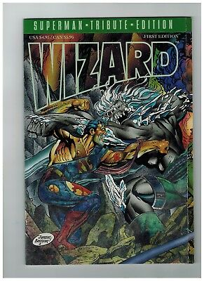 Wizard First Edition Comic Guide Superman Tribute Edition 2018 Sale