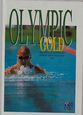 1992 Olympic Gold Medal Collection In Album Of Issue. 16 Lovely Medals.