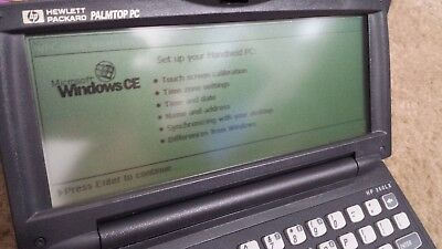 HP 360Lx Handheld Windows CE PDA with Original Accessories Look WOW Nice!!!