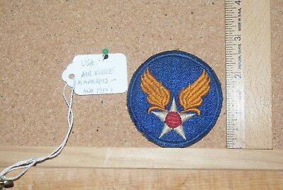 WWII USAAF Air Force shoulder patch