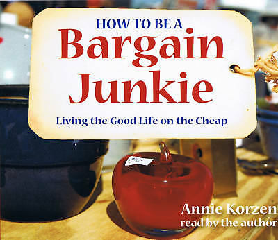 How To Be A Bargain Junkie 3-CD Unabridged Audiobook - NEW - FREE SHIPPING