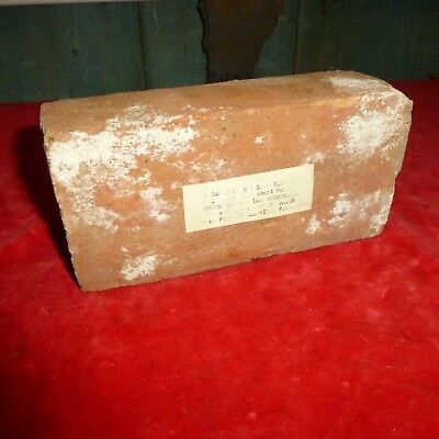 Rare Civil War Era Relic -Foundation Brick From Mclean House -Appomattox -Va