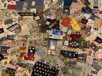 Huge Collection Estate Coin Lot ~ Gold Silver ~Old Sets Type Morgan Dollars~