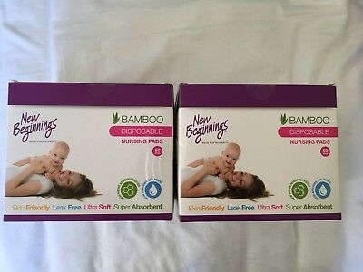 New Beginnings Bamboo Breast Pads