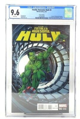 Totally Awesome Hulk 3 CGC 9.6 1st Kid Kaiju Perkins Variant
