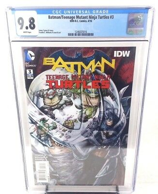 Batman Teenage Mutant Ninja Turtles #3 CGC 9.8